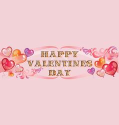 valentins day background 7 vector image