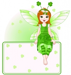 St Patrick's Day card vector image vector image