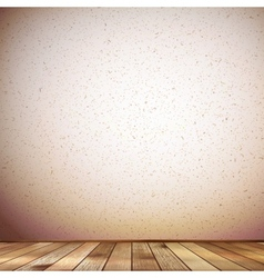 Wooden interior background plus EPS10 vector image vector image
