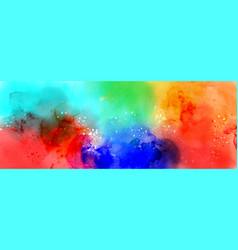 Abstract surface fantasy splatter watercolor vector