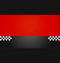 business card driver race eps10 vector image
