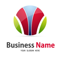business web icon and logo vector image