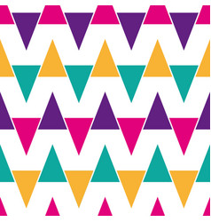 colorful abstract geometric seamless vector image