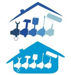 Design home repair vector