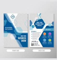 flayers1 okcreative business brochure designs vector image