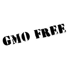 Gmo free stamp vector