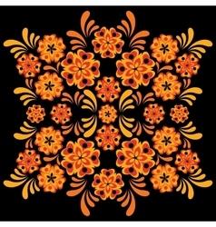 hohloma khokhloma ornament vector image