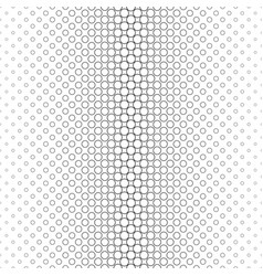 monochrome circle pattern - geometric background vector image