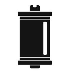 photo camera film icon simple style vector image