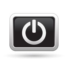 Power icon vector