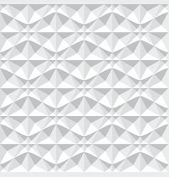 Seamless 3d geometric pattern vector