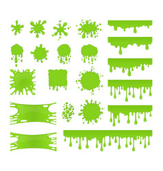 Slime set vector