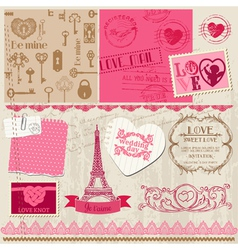 Wedding Set of design elements vector