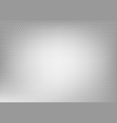 background with hexagon grey vector image vector image