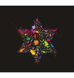 David Star vector image vector image