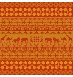 African texture vector image