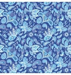 Blue Fresh Indian Pattern vector