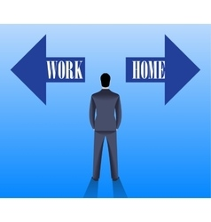 Business first concept vector image