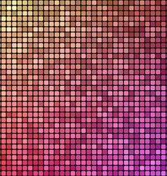 Colorful pixel mosaic design background vector