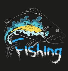fish unique vector image