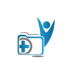 healthcare and hospital symbol vector image