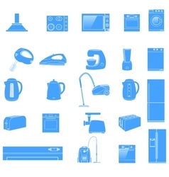 Household icon Home Appliances icon vector