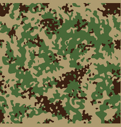 Indian flectarn camouflage seamless patterns vector