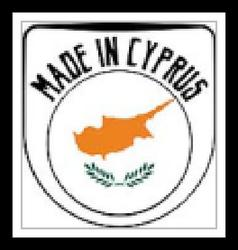 Made in Cyprus rubber stamp vector image