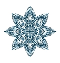 Mandala decorative ethnic floral ornament vector