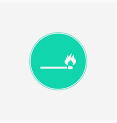 match icon sign symbol vector image