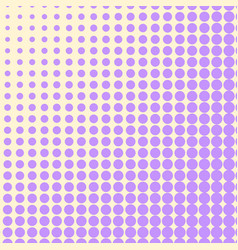 Pop art background the violet color turns into vector