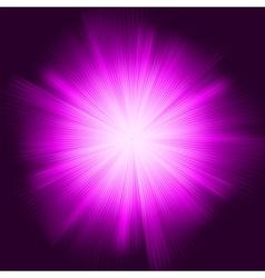 Purple star burst vector