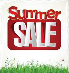 summer sale 2 vector image