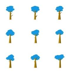 Tree set various flat vector