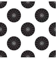 Umbrella top view seamless vector
