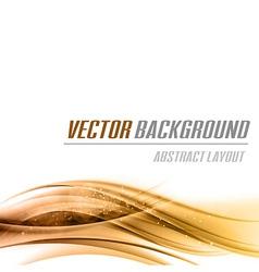 background orange bottom vector image