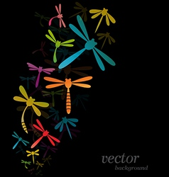 Dragonfly design vector image vector image
