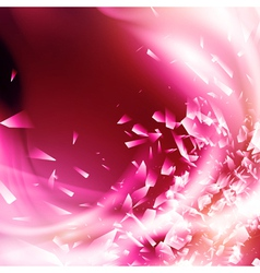Abstract Pink Glamorous Background vector image