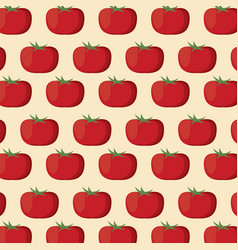 tomato nutrition seamless pattern image vector image vector image
