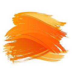 Abstract watercolor art brush spots banner vector