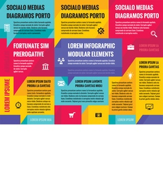 Business infographic concept layout vector
