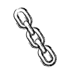 chain icon image vector image