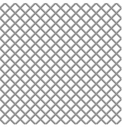 chrome metal grill shiny mesh seamless texture vector image