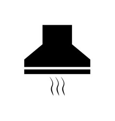 cooker hoods icon vector image