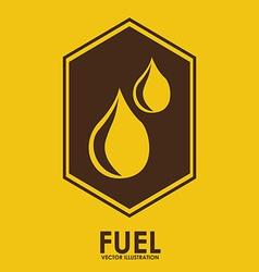 fuel design vector image