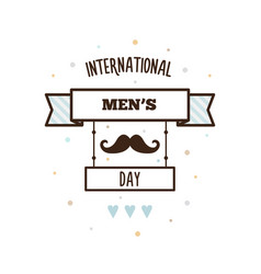 International mens day vector