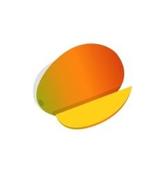 Mango fruit icon isometric 3d style vector image