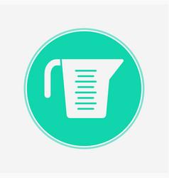 measuring cup icon sign symbol vector image