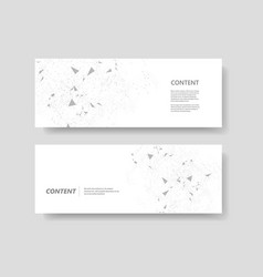 Science technology and medicine templates vector