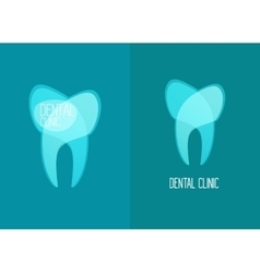 Stomatology Healthy White Teeth Logo vector image
